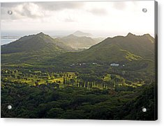 Hawaii Pacific University Acrylic Print by Kevin Smith
