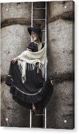 Haystack Acrylic Print by Joana Kruse