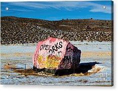 Haystack Rock Acrylic Print by Jon Burch Photography