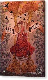Hazel House Acrylic Print by Ethan Harris
