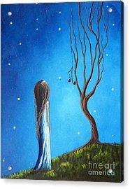 He Still Loves Her By Shawna Erback Acrylic Print by Shawna Erback