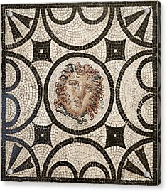 Head Of Medusa Acrylic Print by Unknown