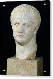 Head Of Titus Acrylic Print by Anonymous