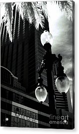 Head Toward The Light Acrylic Print by Robert McCubbin