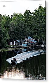 Headed Home Acrylic Print by Andy Crawford