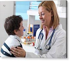 Health Check Acrylic Print by Tek Image