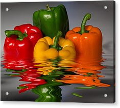 Healthy Reflections Acrylic Print by Shane Bechler