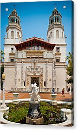 Hearst Castle Acrylic Print by Inge Johnsson