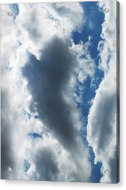 Heart I Acrylic Print by Anna Villarreal Garbis