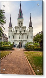 Heart Of The French Quarter Acrylic Print by Steve Harrington