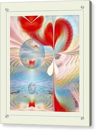 Heartbeat Acrylic Print by Gayle Odsather
