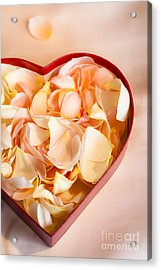 Heartfelt Acrylic Print by Jan Bickerton