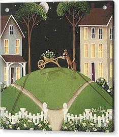 Heather Glen Acrylic Print by Catherine Holman