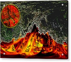 Heatwave Acrylic Print by Wendy J St Christopher