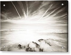 Acrylic Print featuring the photograph Heaven And Hell by Thierry Bouriat