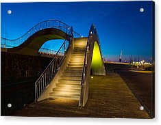 Heavenly Stairs Acrylic Print by Chad Dutson