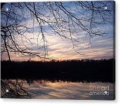 Heaven's Reflection Acrylic Print by Greg Geraci