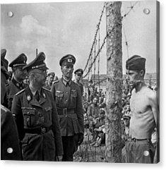 Heinrich Himmler, Head Of The Nazi Ss Acrylic Print by Everett