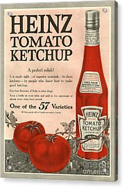 Heinz 1910s Usa Acrylic Print by The Advertising Archives