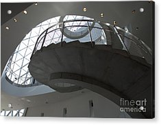 Helical Staircase Acrylic Print by Liane Wright