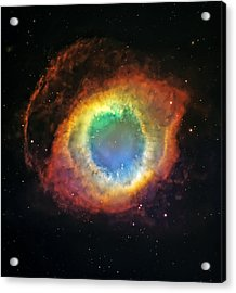 Helix Nebula 2 Acrylic Print by The  Vault - Jennifer Rondinelli Reilly
