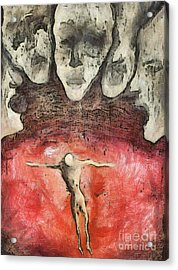 Hell Are The Others Acrylic Print by Michal Boubin