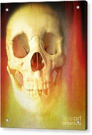 Hell Fire Acrylic Print by Edward Fielding