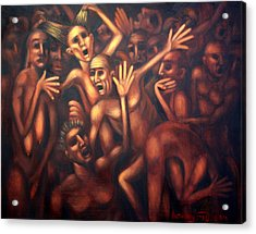 Hell The Alternative Acrylic Print by Anthony Falbo