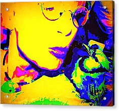 Hello Betty Acrylic Print by YoMamaBird Rhonda