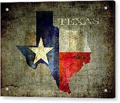 Hello Texas Acrylic Print by Daniel Hagerman