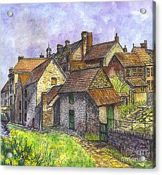 Helmsley Village -  In Yorkshire England  Acrylic Print by Carol Wisniewski