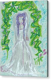 Hera Juno Acrylic Print by First Star Art