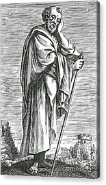 Heraclitus Of Ephesus, Greek Philosopher Acrylic Print by Science Source