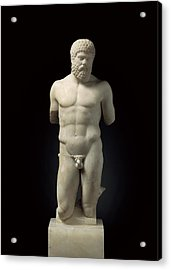Hercules. 5th C. Bc. Roman Copy. Greek Acrylic Print by Everett