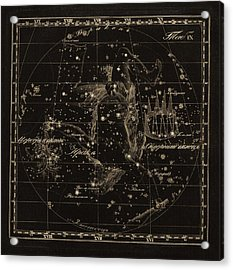 Hercules Constellations, 1829 Acrylic Print by Science Photo Library