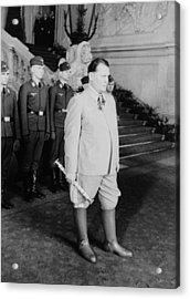 Hermann Goering At Castle Belvedere Acrylic Print by Everett