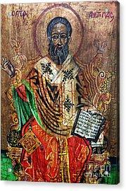 Herod Antipas Acrylic Print by Ryszard Sleczka