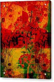 Hidden Garden Acrylic Print by Ann Powell