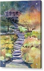 Hideaway Acrylic Print by Kris Parins
