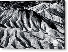 Hiding Places At Death Valley Acrylic Print by John Rizzuto