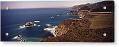 High Angle View Of A Coastline, Big Acrylic Print by Panoramic Images