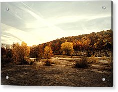 Acrylic Print featuring the photograph High Cliff State Park by Joel Witmeyer