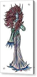High Ogre Elessidia Acrylic Print by Shawn Dall