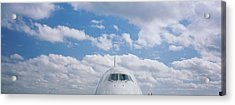 High Section View Of An Airplane Acrylic Print by Panoramic Images