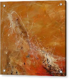 Highest Time 1  - Abstract Art Acrylic Print by Ismeta Gruenwald