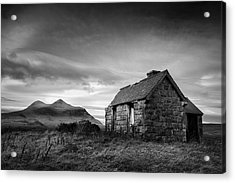 Highland Cottage 2 Acrylic Print by Dave Bowman
