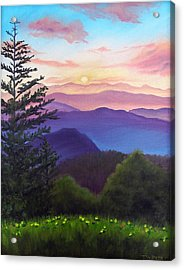 His Mercies Are New Every Morning Acrylic Print by Joan Swanson