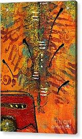 His Vase Acrylic Print by Angela L Walker