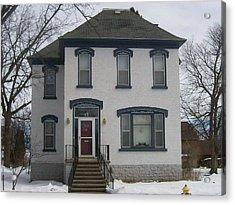 Historic Home Menominee Acrylic Print by Jonathon Hansen