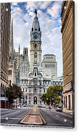 Historic Philly Acrylic Print by JC Findley